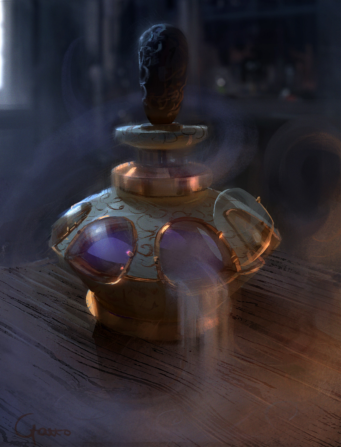 Roberto gatto potion of mist fixed