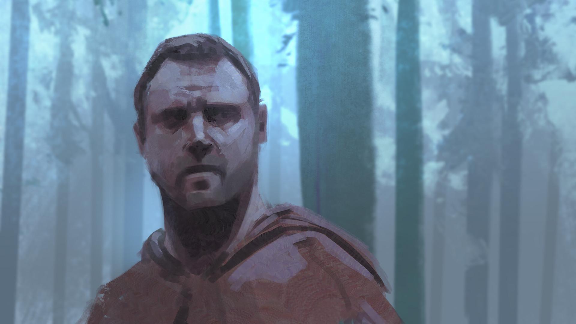 Jedd chevrier portrait sketch