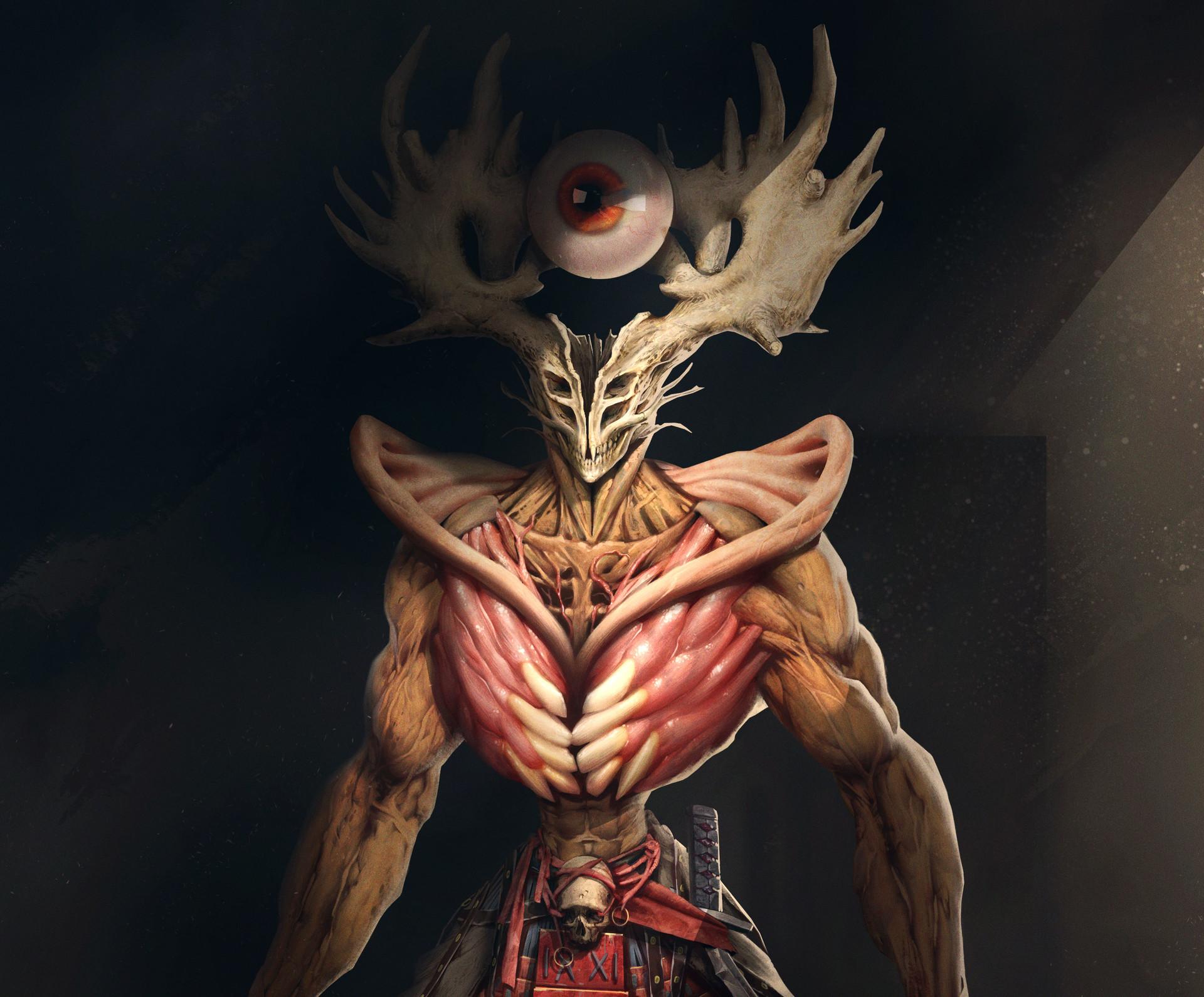 Quentin castel demon detail