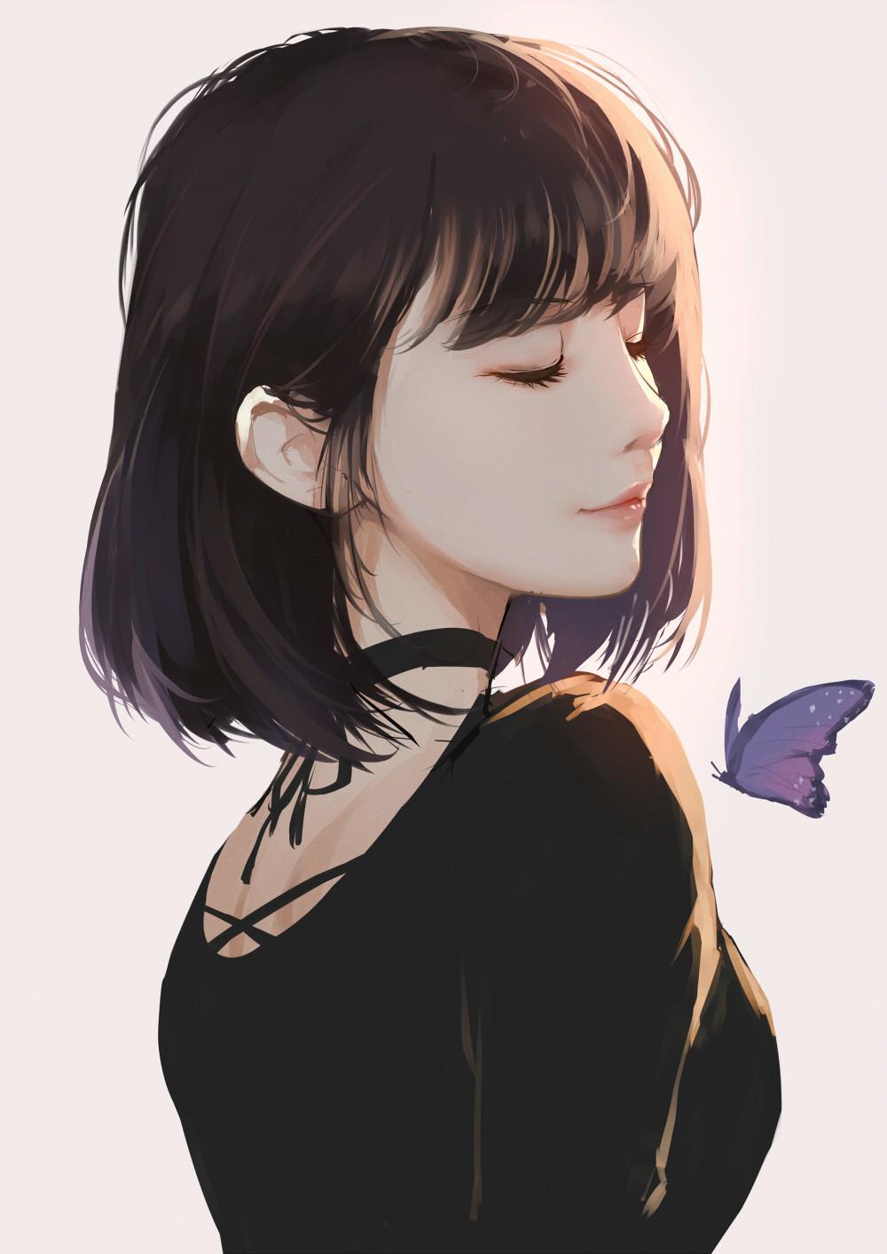 Artstation Butterfly Kd Chen