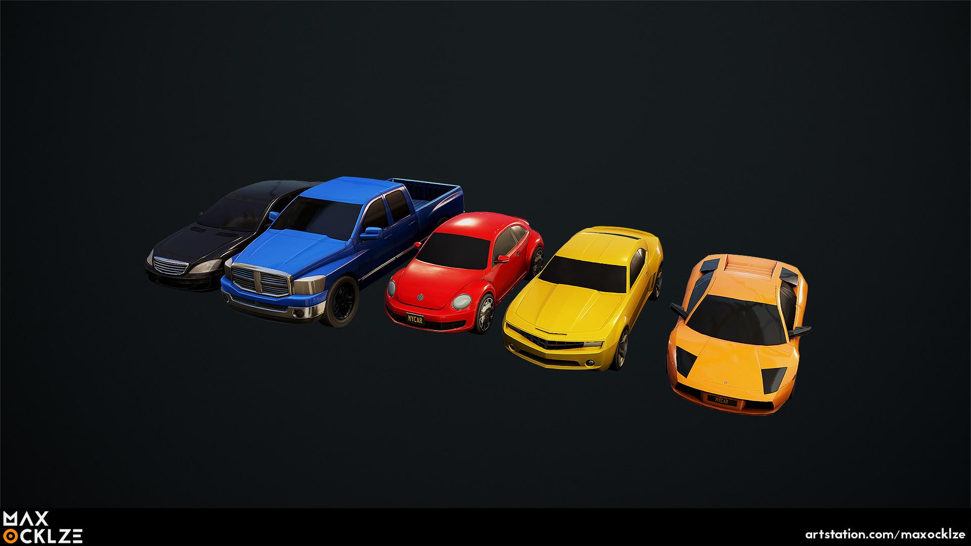 Max ocklze cars 2