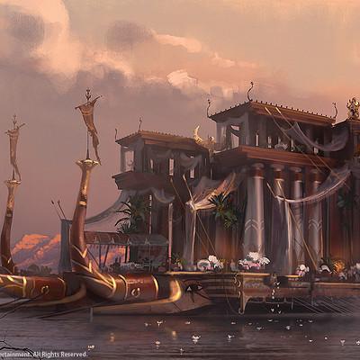 Martin deschambault aco cleopatra barge mdeschambault
