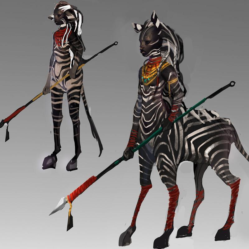 The Zebra Girl.