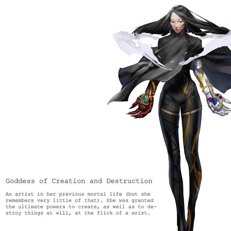 goddess of destruction and creation