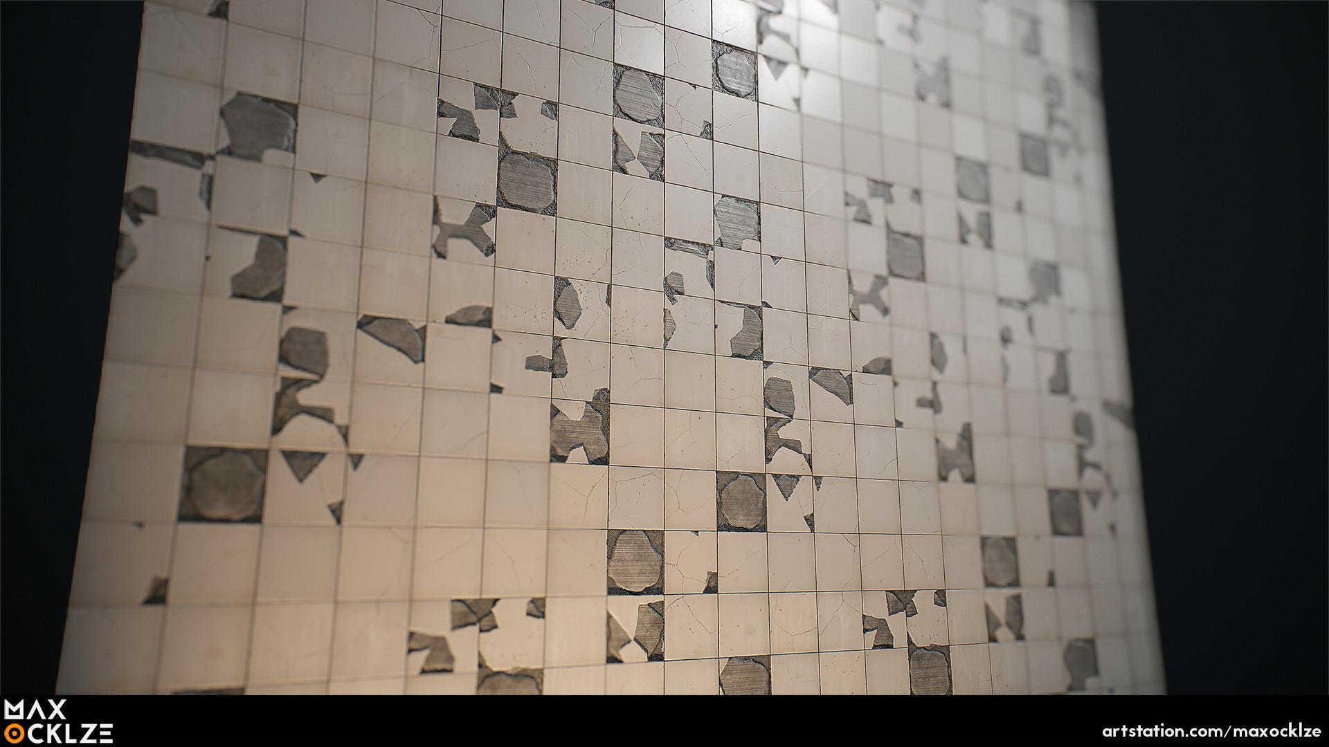 Max ocklze broken tiles 3