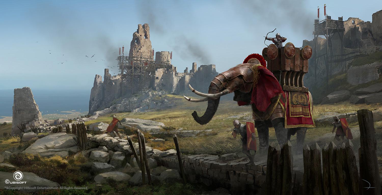Martin deschambault aco war elephant roman mdeschambault