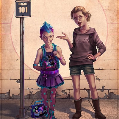 Eran fowler the first day of school by eranfowler