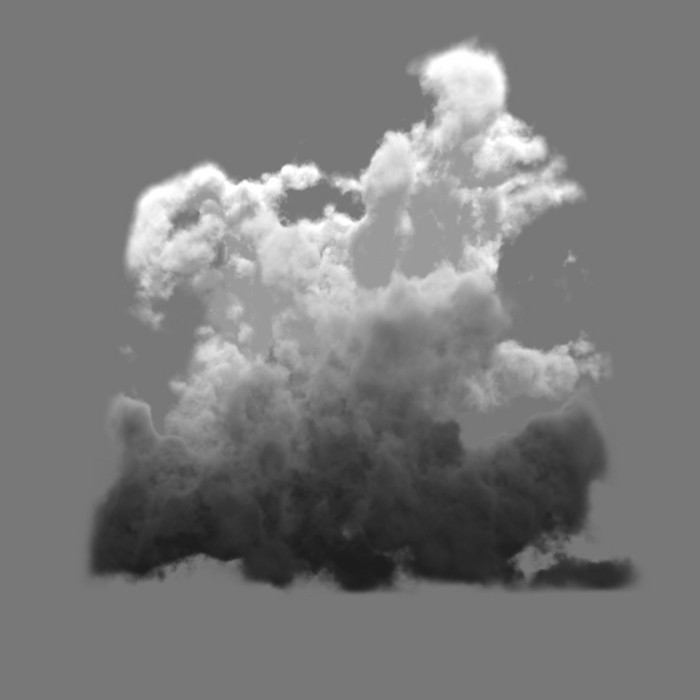 storm cloud element