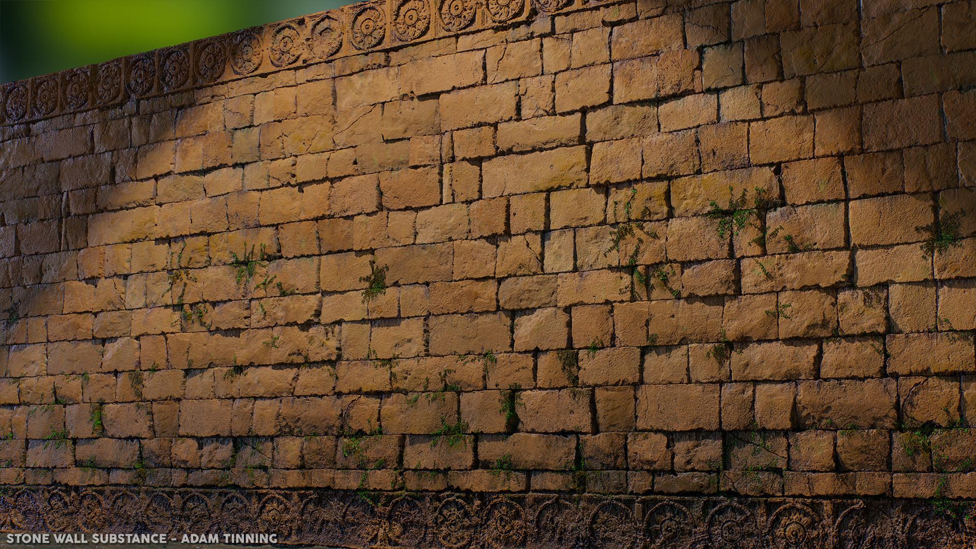 Adam tinning stonewall render 03