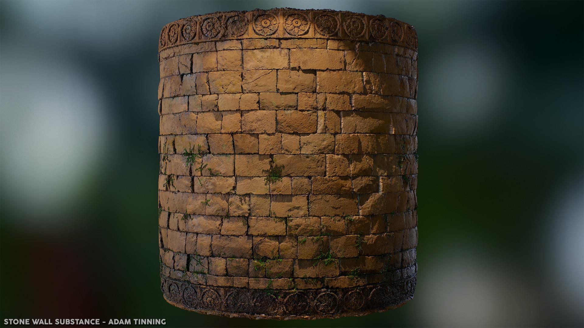 Adam tinning stonewall render 05