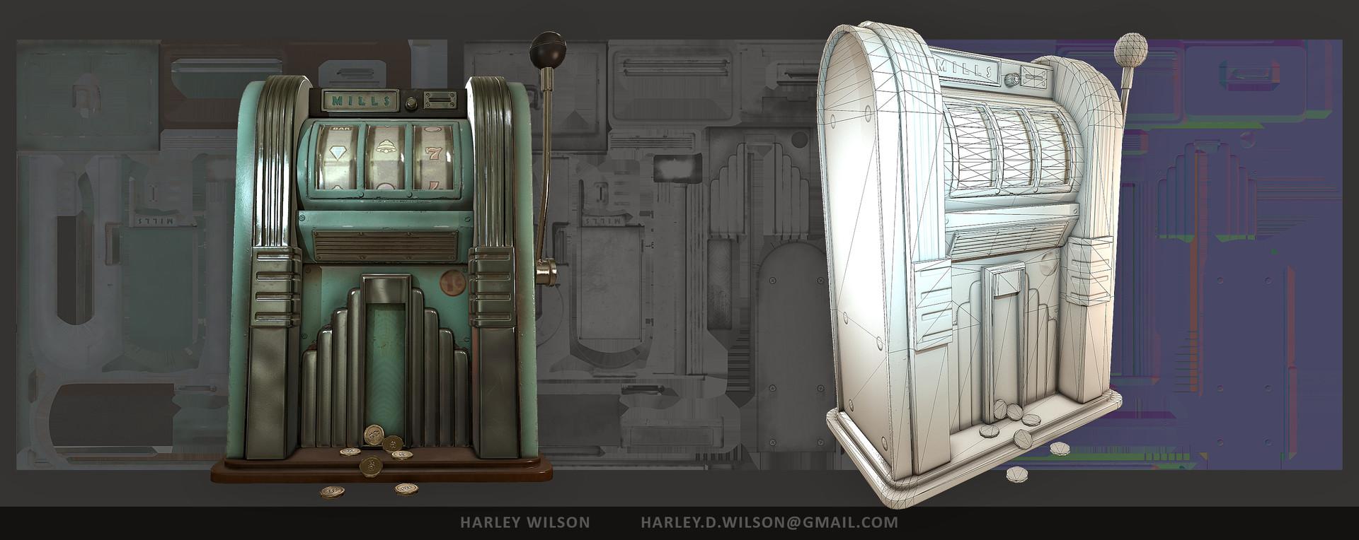 Harley wilson slots pres b