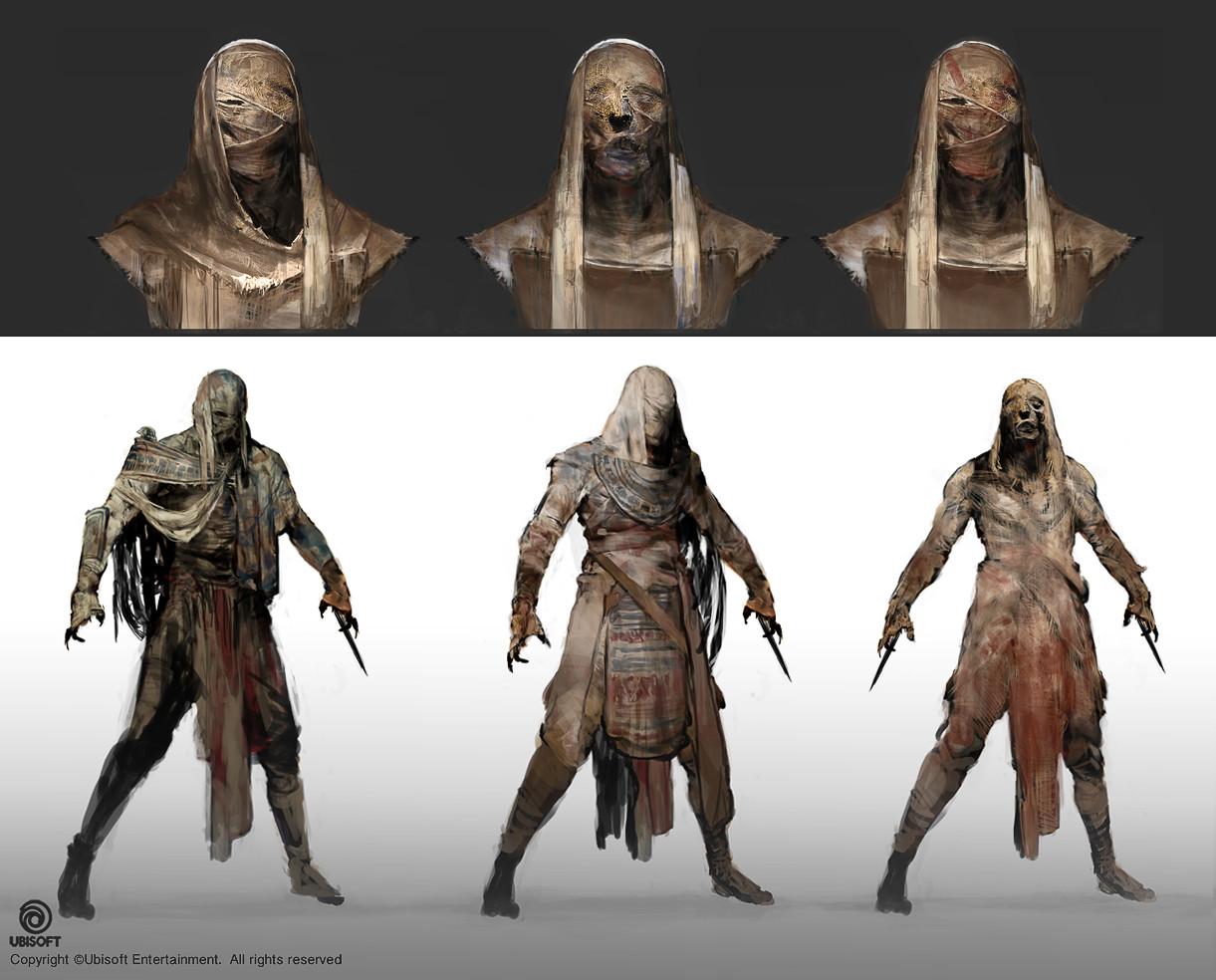 Jeff simpson mummies sketches