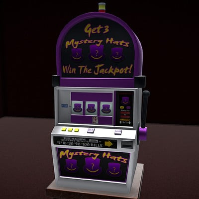 Michael jake carter mcarter slot machine front view