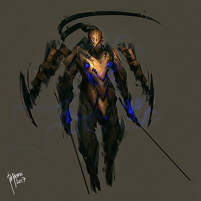 Benedick bana mantiscorpion final coloring final lores