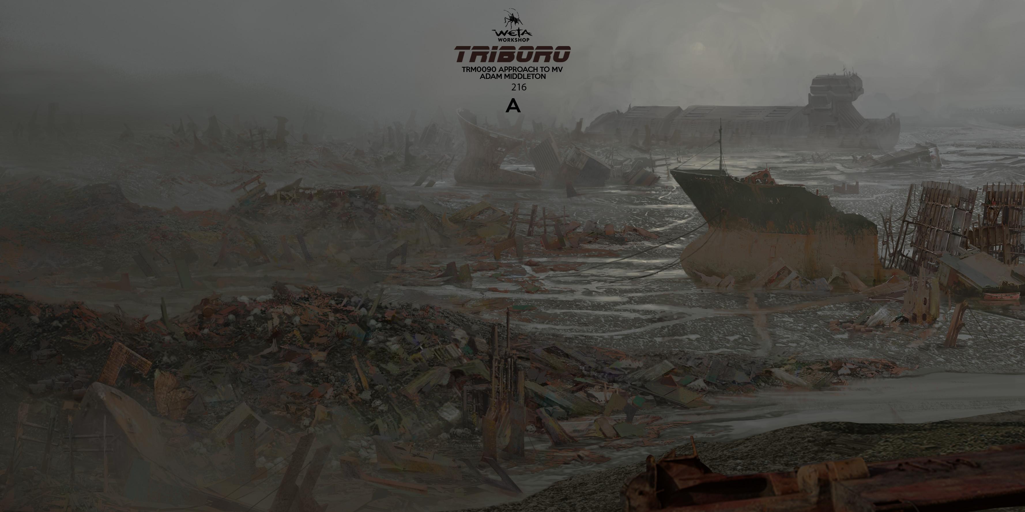Trash Mesa - Artist: Adam Middleton
