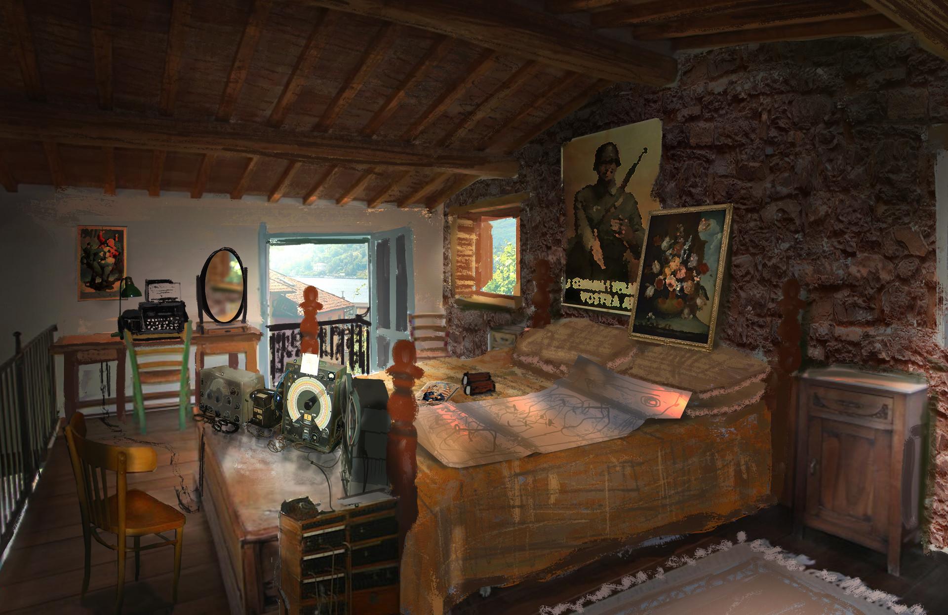 Jack eaves mountain forest village interior radioroom2
