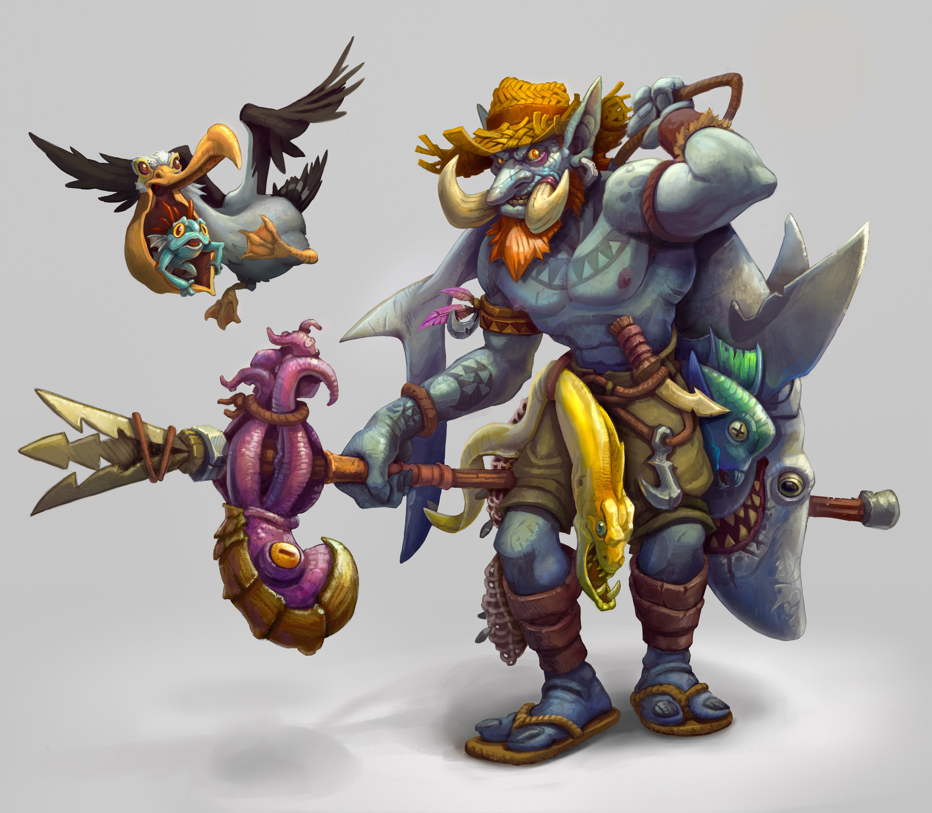 Lloyd hoshide troll fisherman sample3