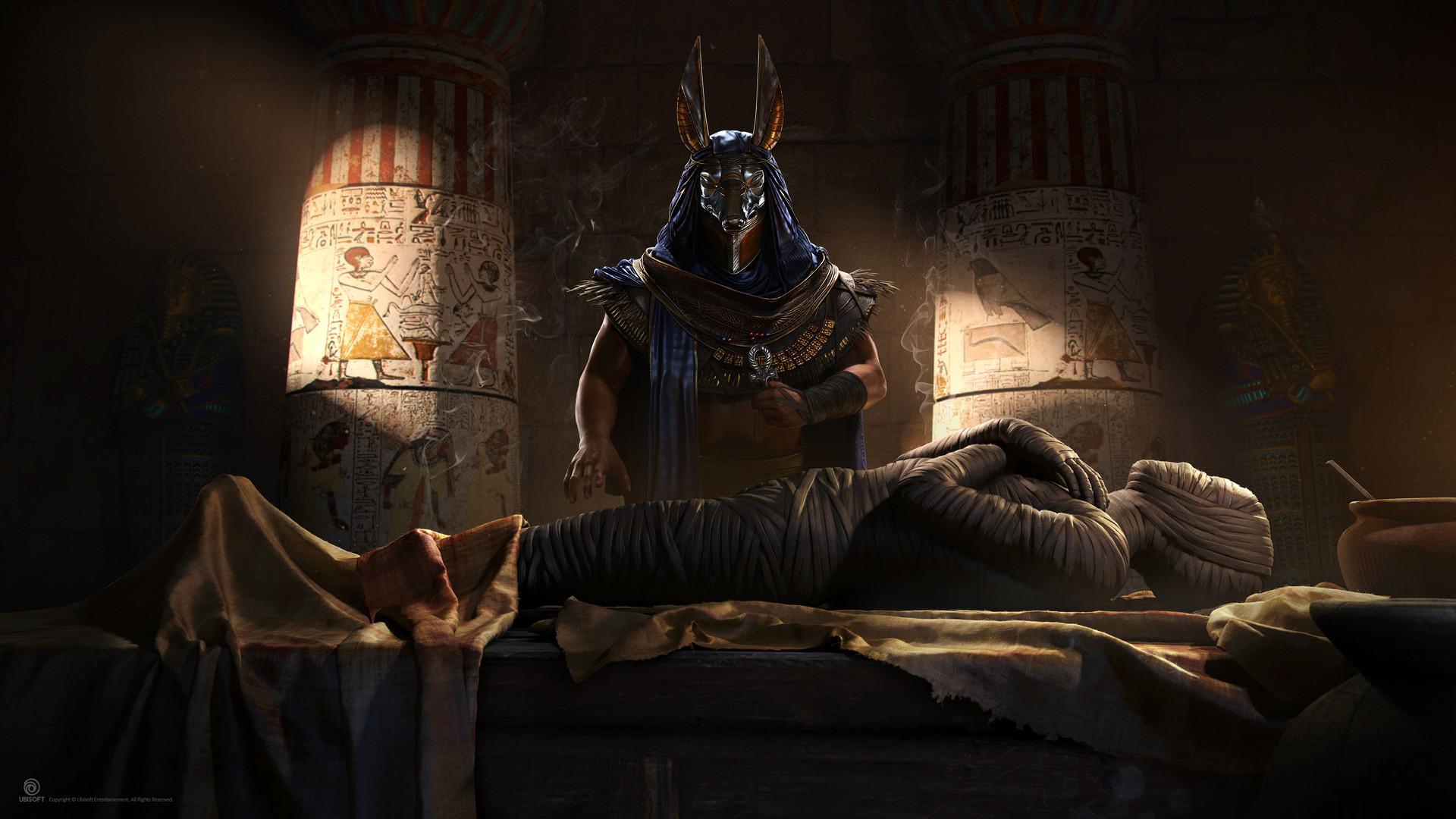 Hugo deschamps artstation mummy