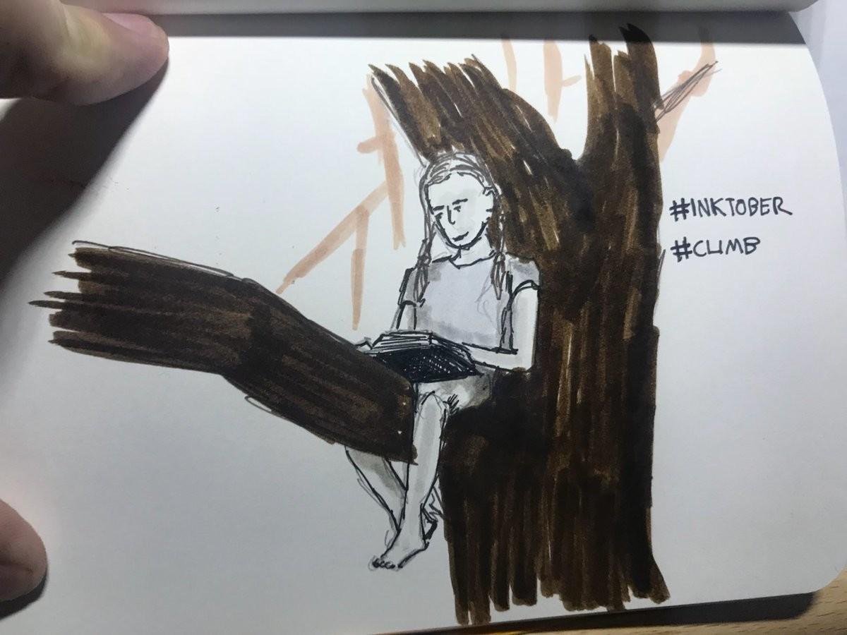 Craig morrison inktober day 27