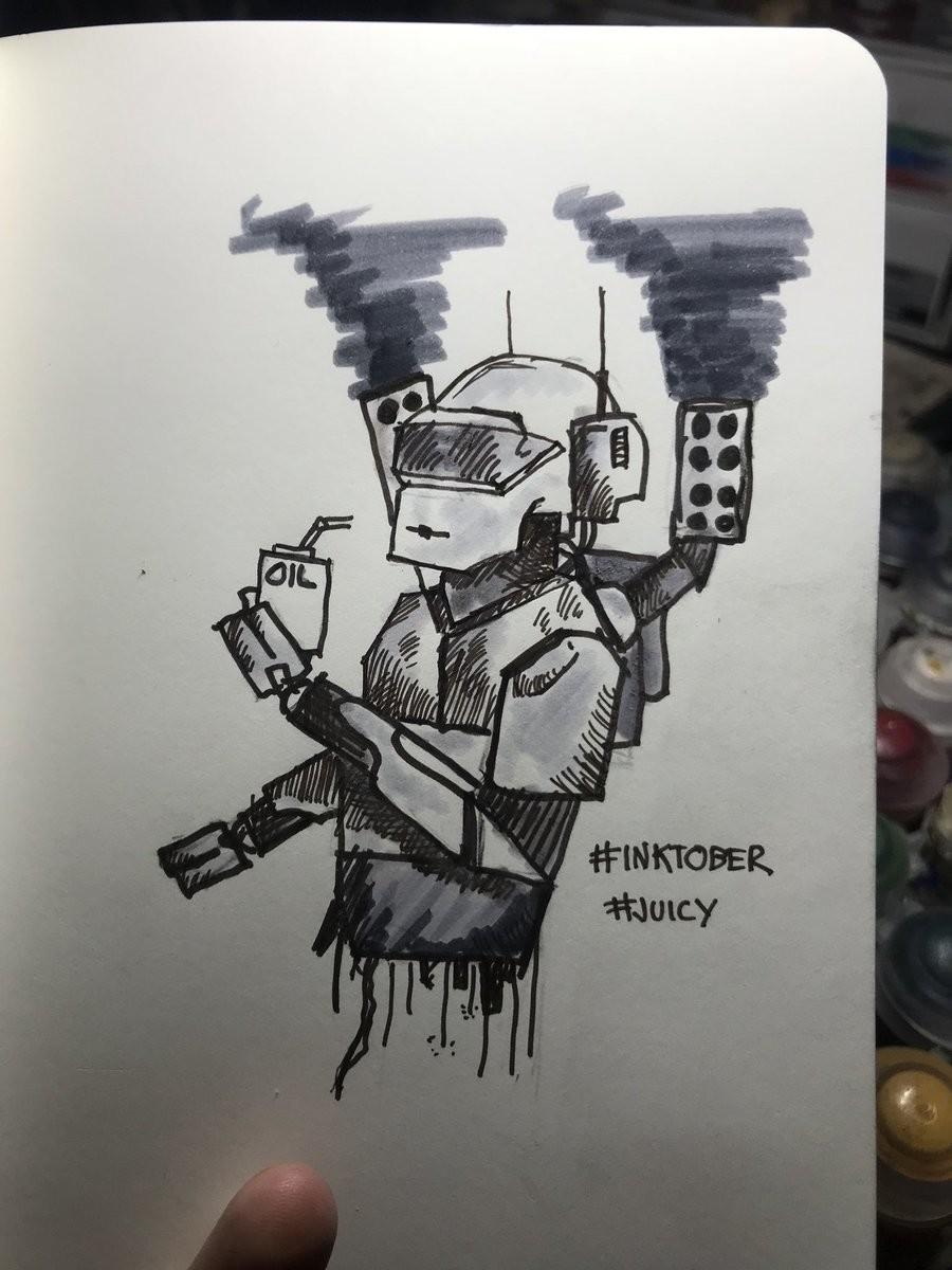 Craig morrison inktober day 23