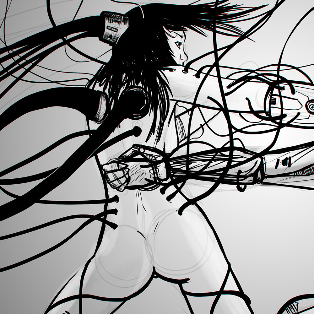 cyberpunk by hugo matilde