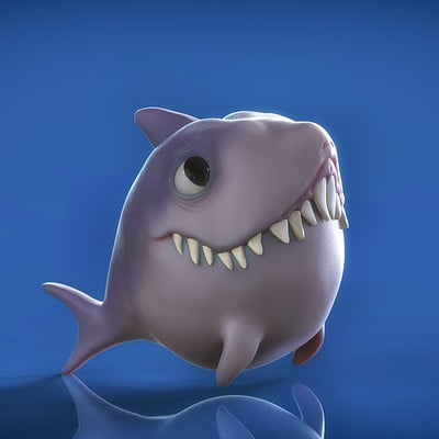 Pol rius casanellas shark render
