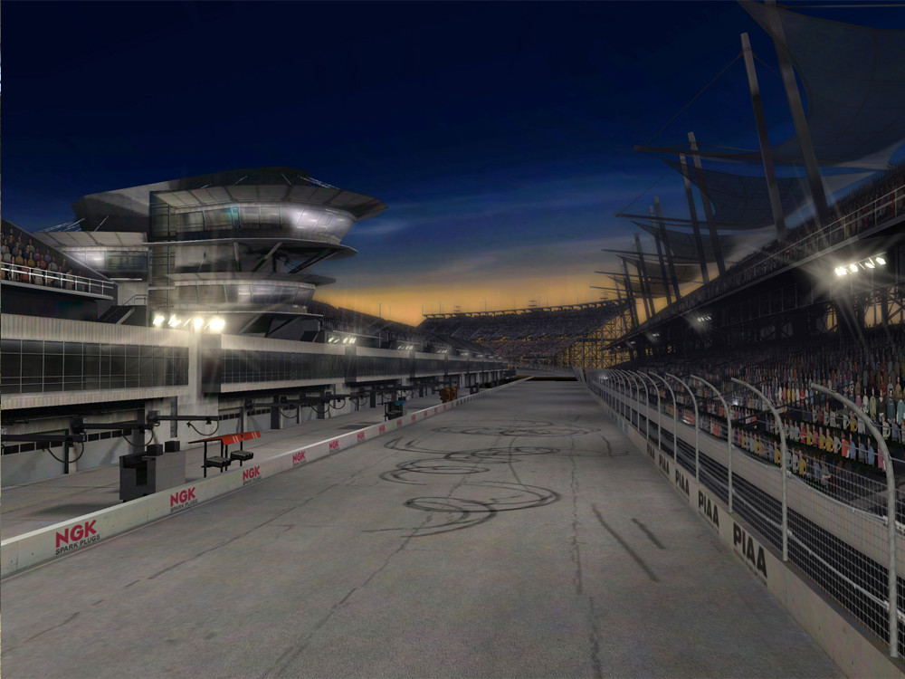Night version of the track