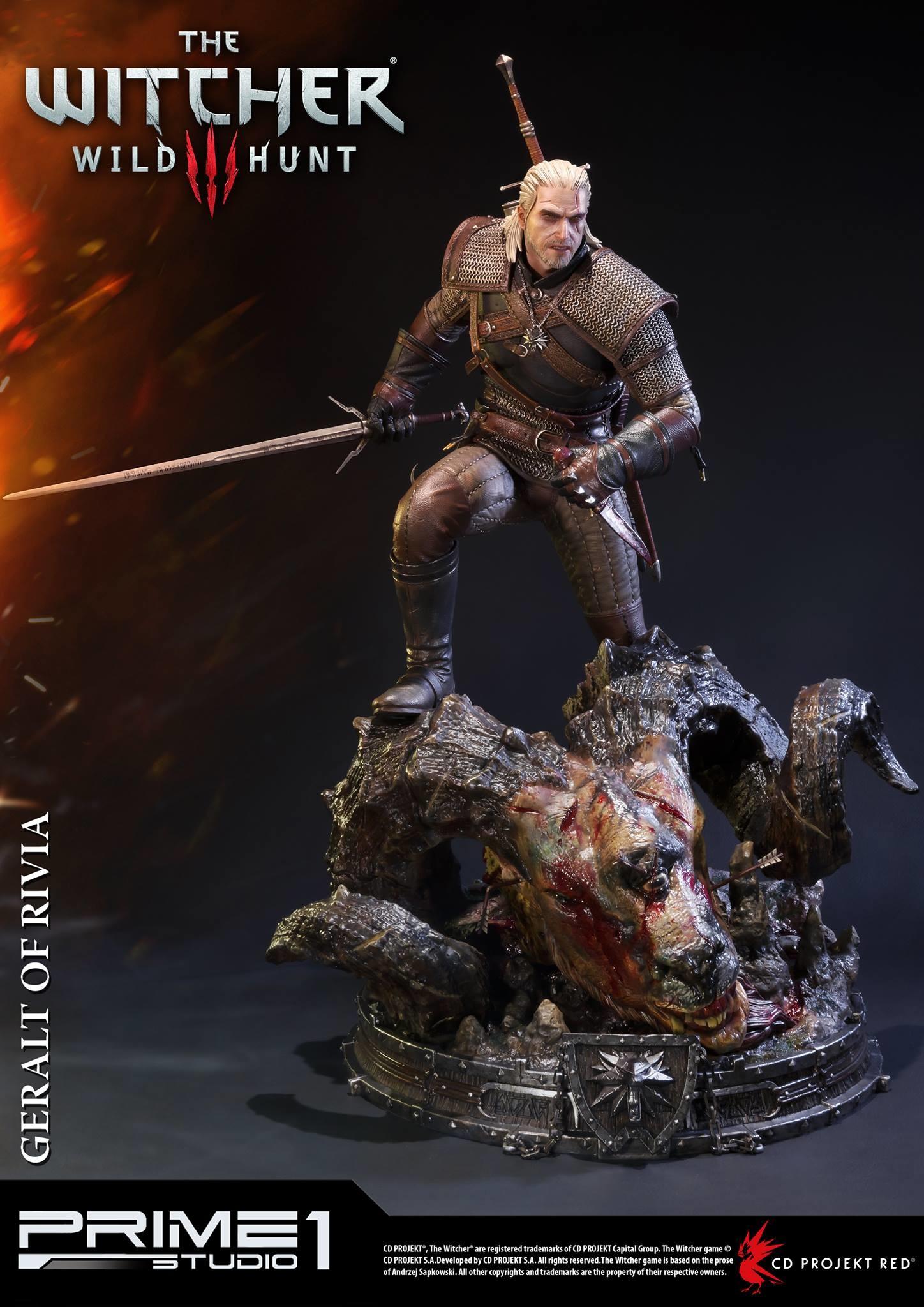 Alvaro ribeiro witcher 3 geralt of rivia statue 004