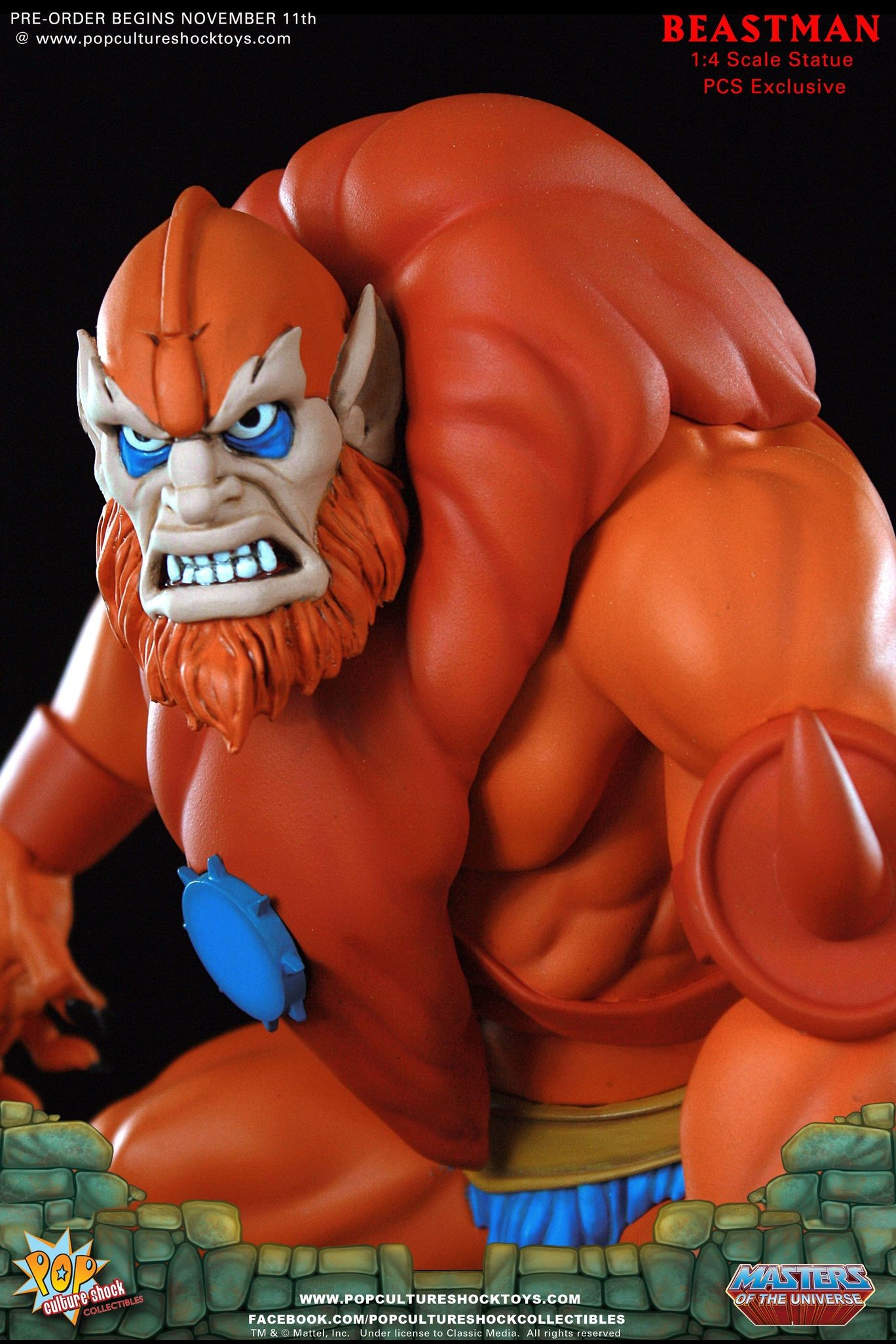 Alejandro pereira beastman exclusive edition motu pop culture shock 06