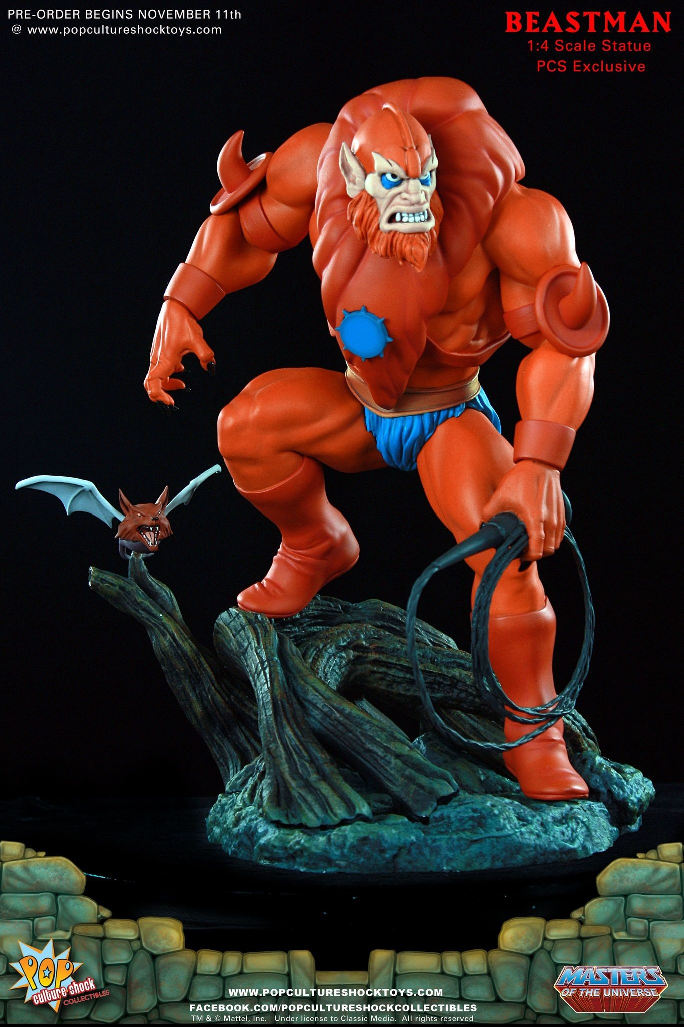 Alejandro pereira beastman exclusive edition motu pop culture shock 02