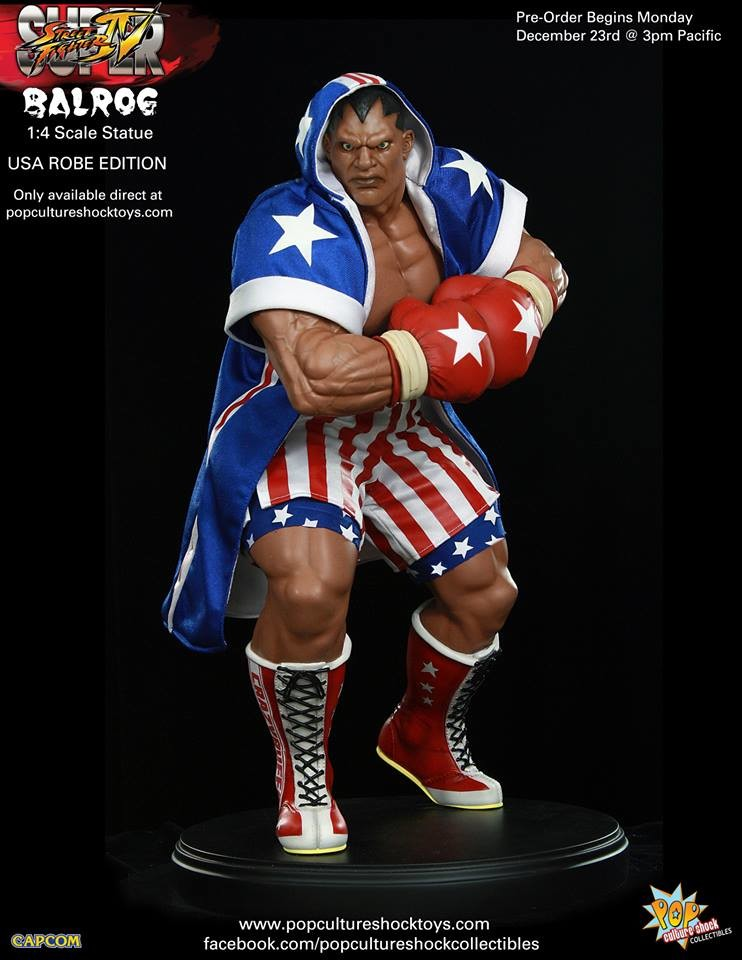 Alejandro pereira street fighter balrog usa robe exclusive 2