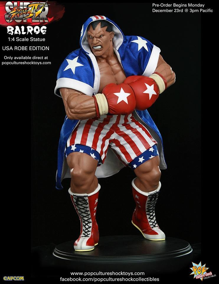 Alejandro pereira street fighter balrog usa robe exclusive 3