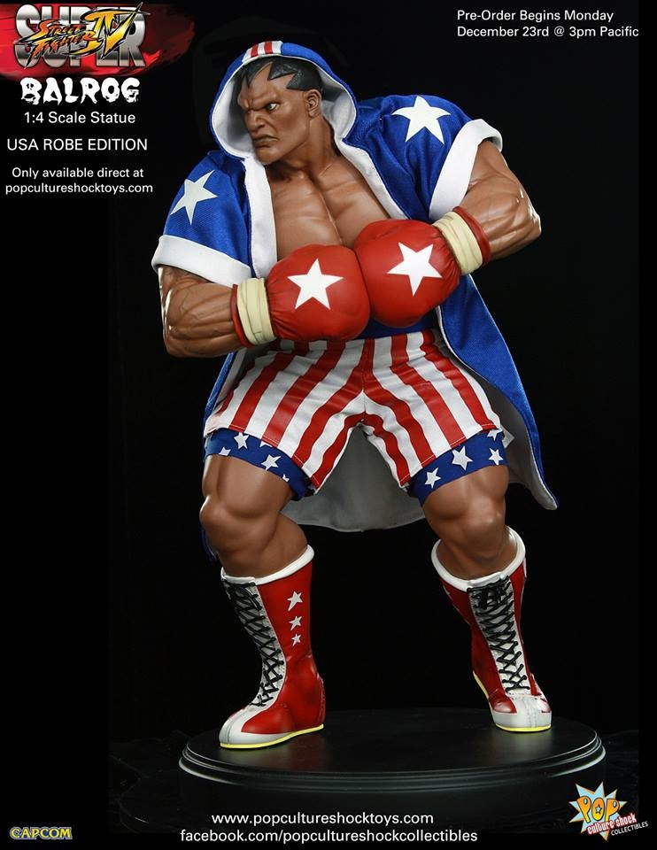 Alejandro pereira street fighter balrog usa robe exclusive 5