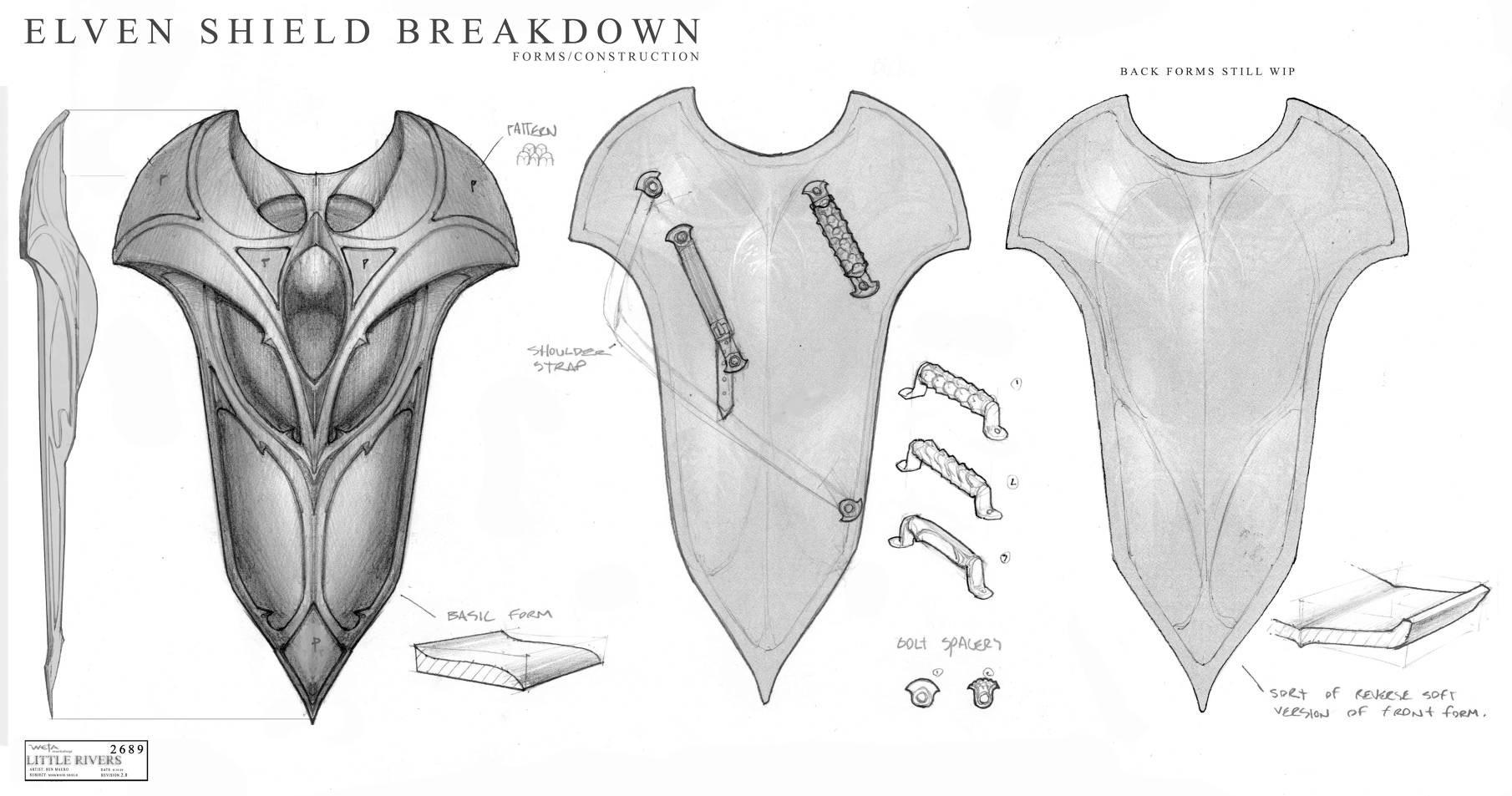 Ben mauro 2689mirkwood shield breakdown bm 905 2x