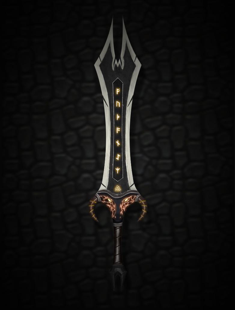 Kevin gille himinhrjod sword