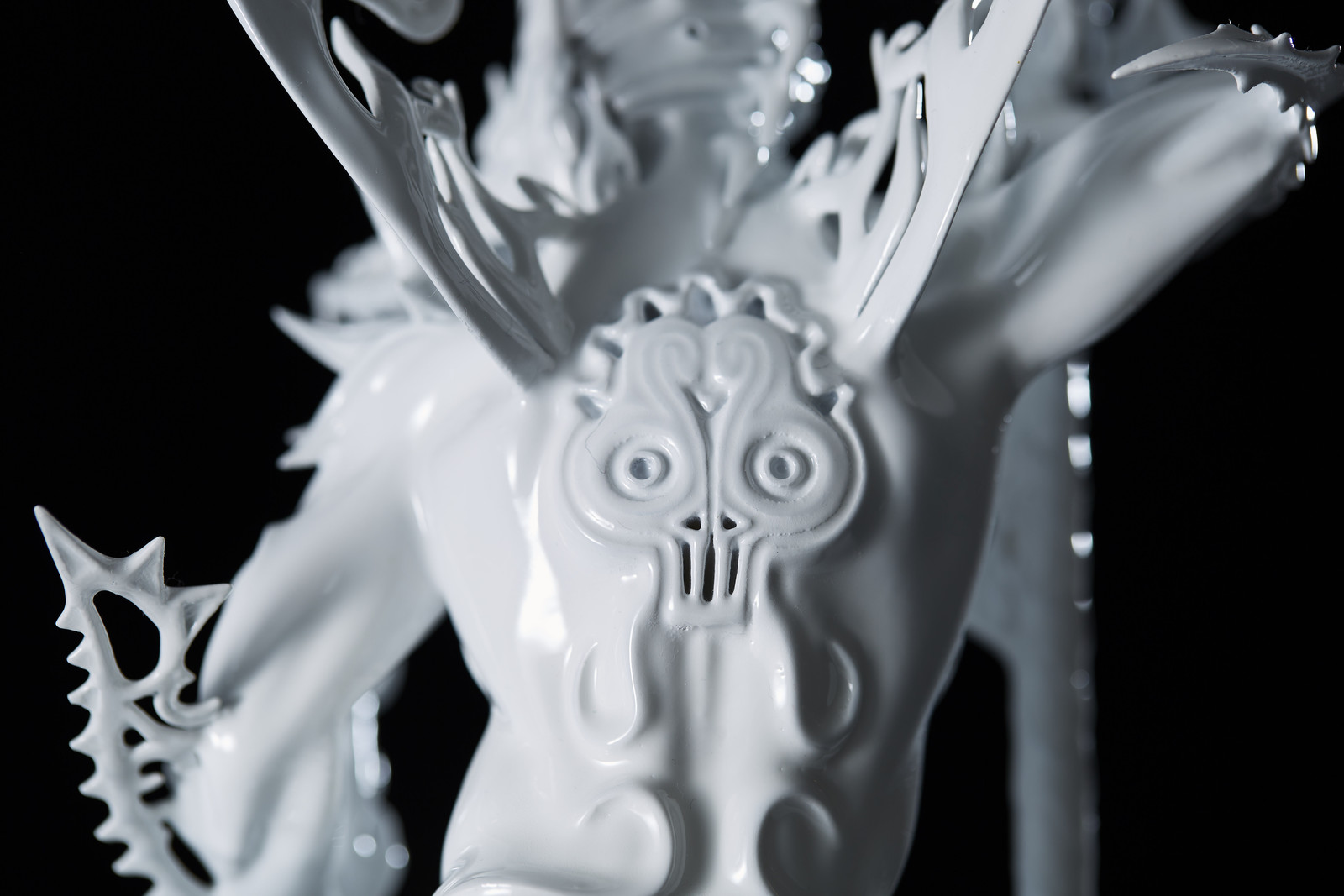 """""""Sarutahiko"""" 3D Printed.  supported by iJet"""