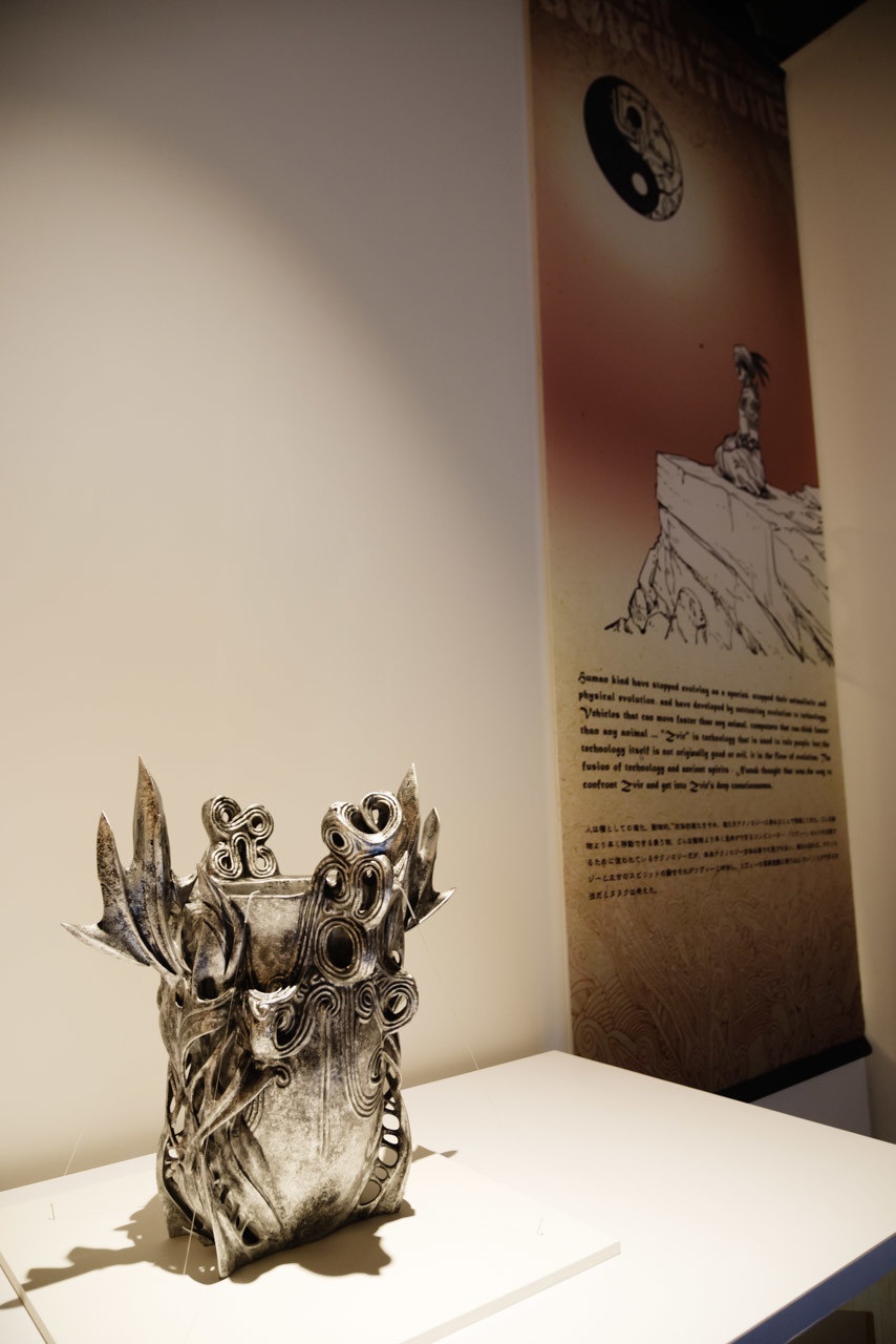"""Quantum Reality"" 3D printed. 3DP supported by iJet.  photo credit:Yoshiaki Hirokawa"
