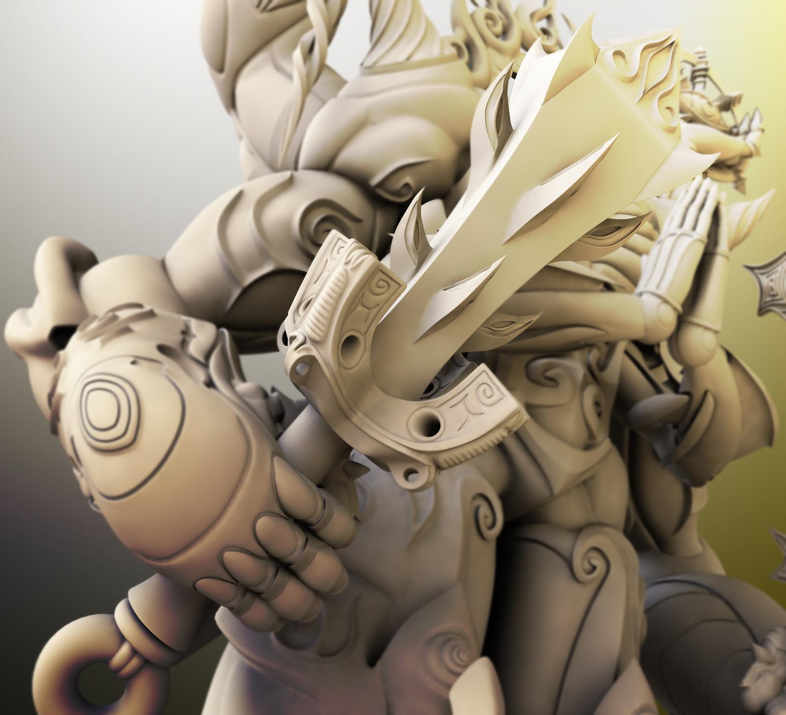 """Vajra"" for 3D printing"
