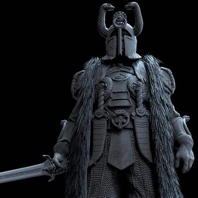 Alejandro pereira thulsa statue 05m