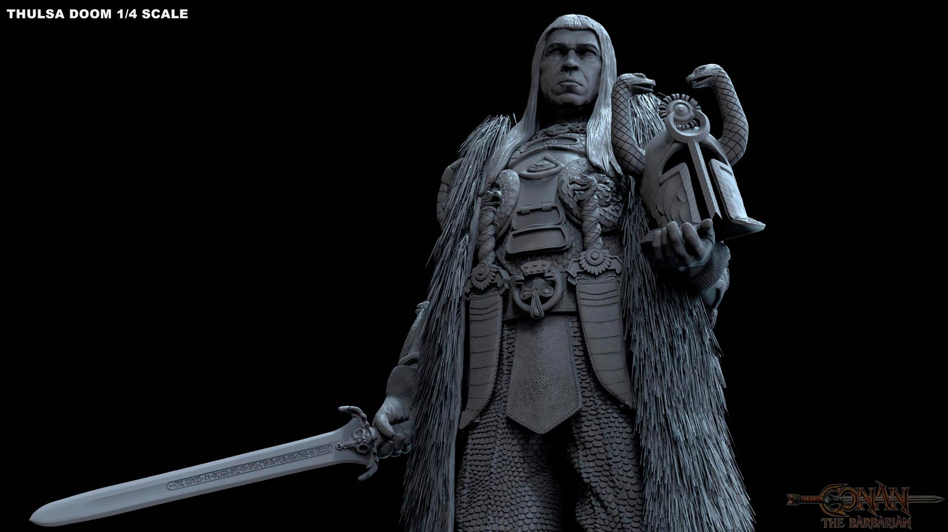 Alejandro pereira thulsa statue 07m
