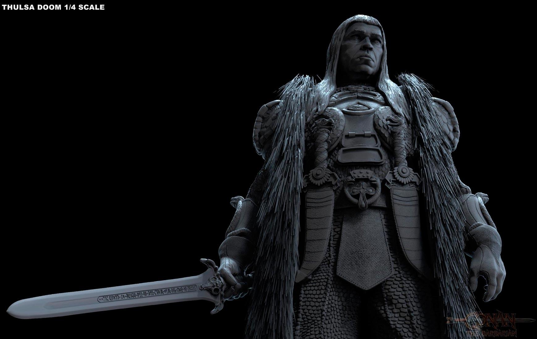 Alejandro pereira thulsa statue 08m