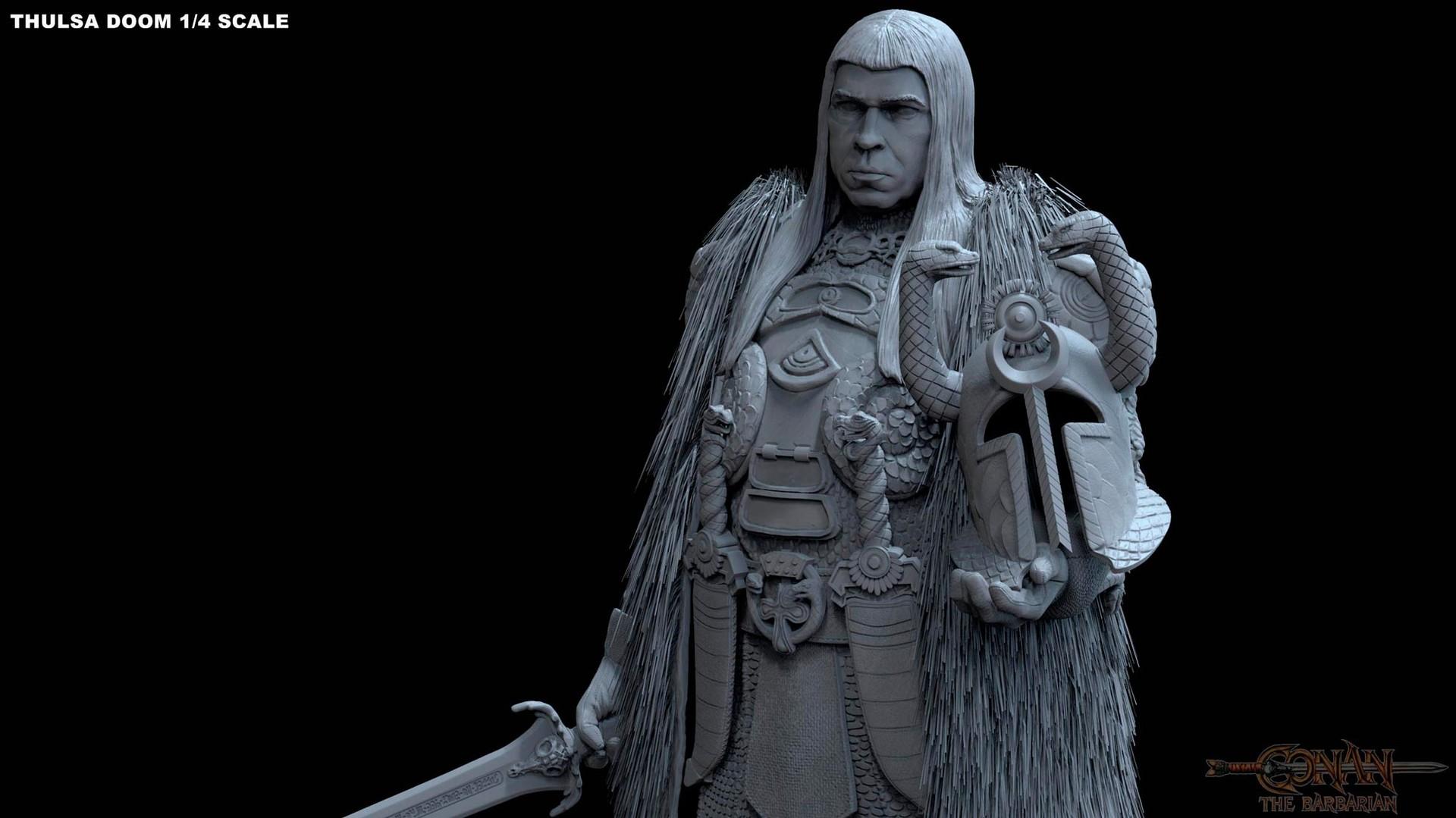 Alejandro pereira thulsa statue 09m