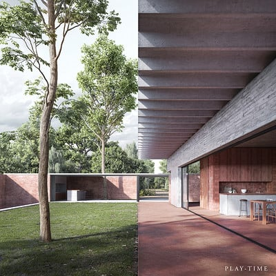 Play time architectonic image josep ferrando architecture casa p en asuncion paraguay