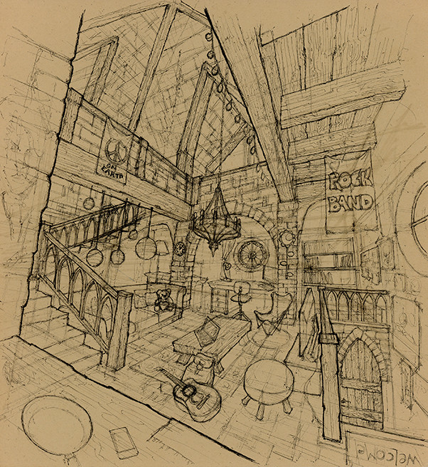 Tower Room Sketch