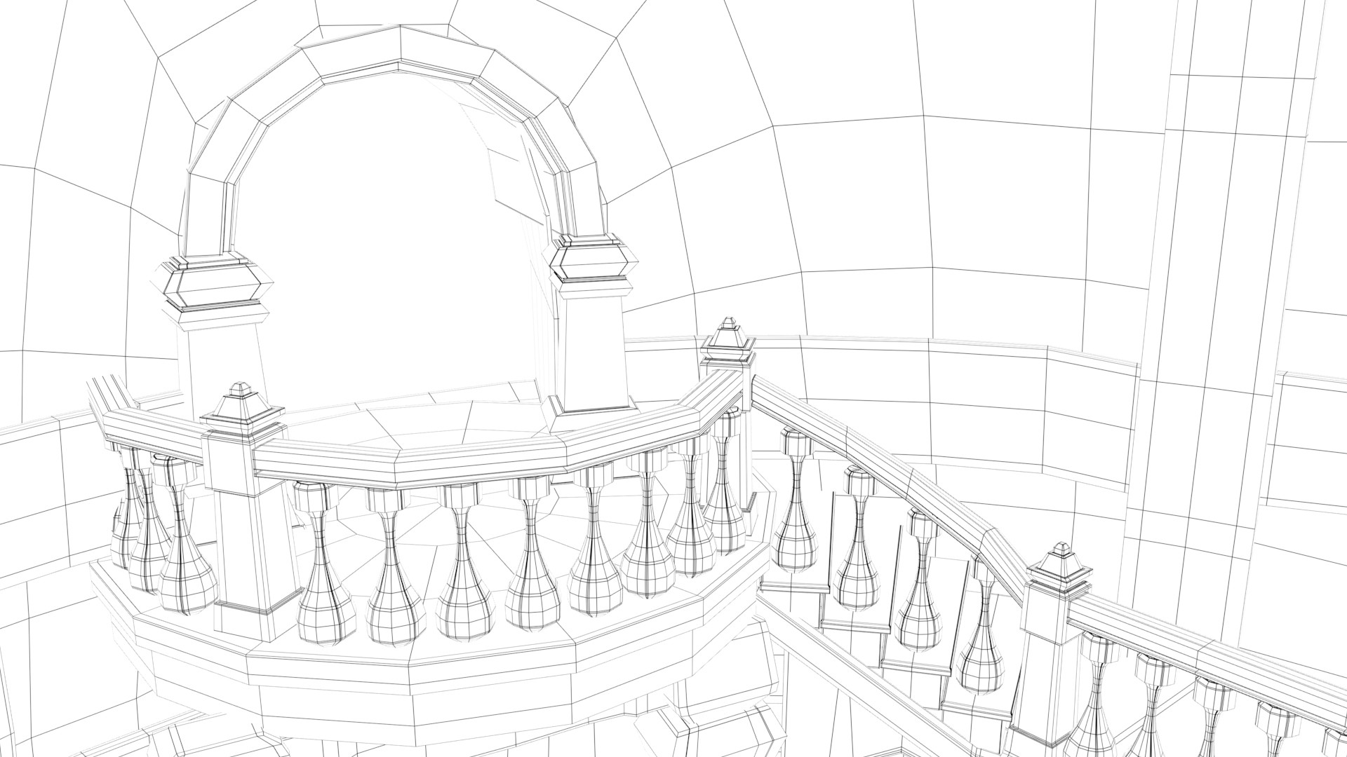 Artstation Rapunzel Tower Interior Modeling Glory Jo