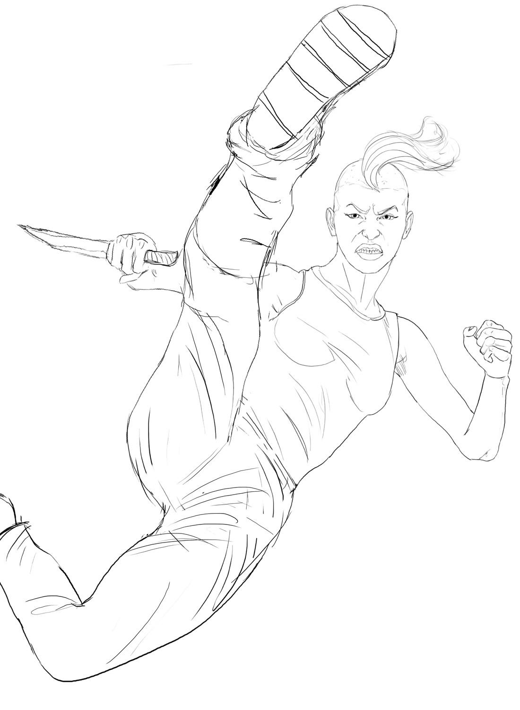 Danny kundzinsh ororo sketch