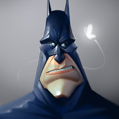 Ivan nikulin batman face