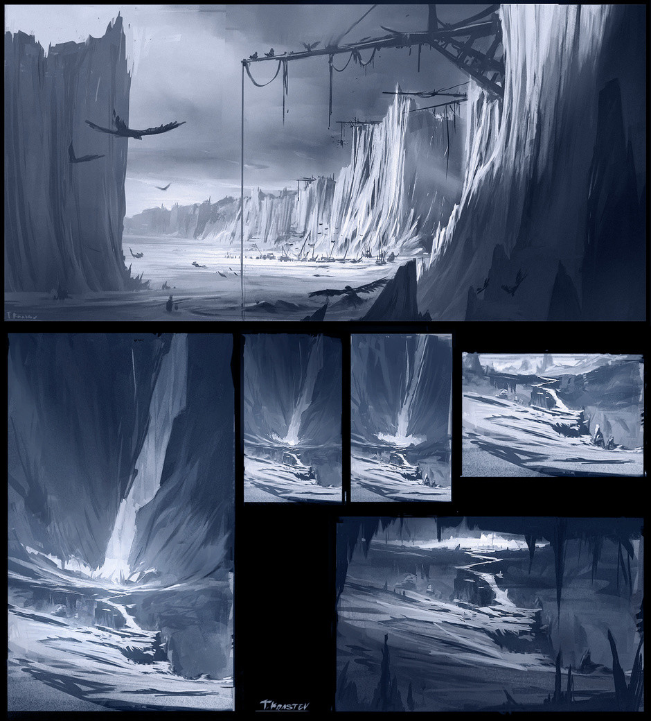 Sketches from an icy place