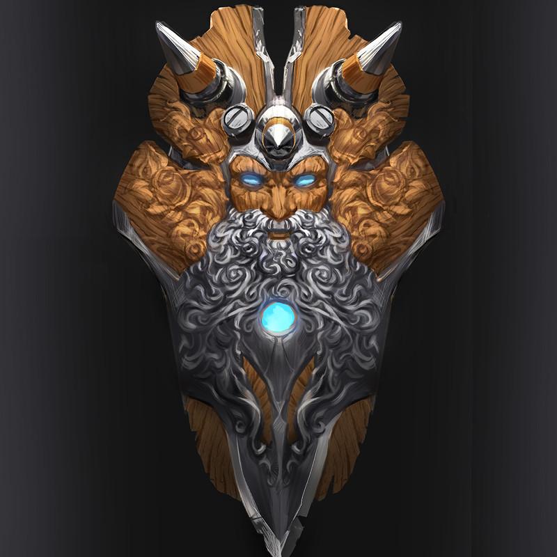 battle shield design