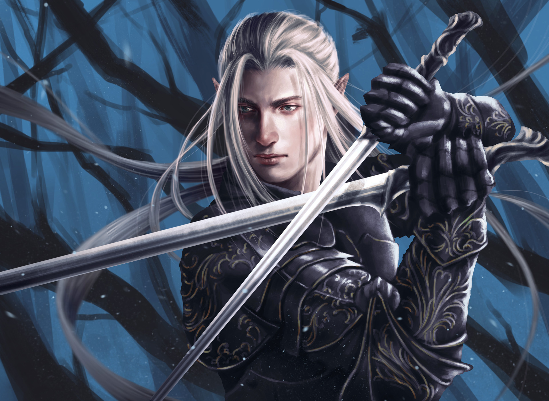 Эльфы мужчины воины картинки